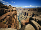 Toroweap Overlook a Panorama of the Canyon From Rim To River  Grand Canyon National Park  AZ