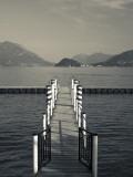 Lake Pier  Tremezzo  Como Province  Italy