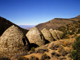 Charcoal Kilns Near Telescope Peak in the Panamint Mountains  Death Valley National Park  CA