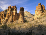 Pinnacles in Red Canyon  Big Bend National Park  Texas  USA