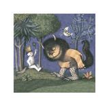 King of all Wild Things Reproduction d'art par Maurice Sendak