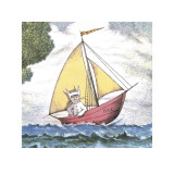 Max Sailing Reproduction d'art par Maurice Sendak