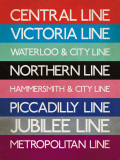 London Transport Tube Lines