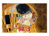 Le Baiser, vers 1907, détail Giclée premium par Gustav Klimt