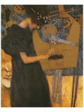 La musique Giclée premium par Gustav Klimt