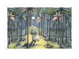 To the Land of the Wild Things Reproduction d'art par Maurice Sendak