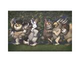 Let the Wild Rumpus Start III Reproduction d'art par Maurice Sendak