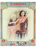 Shanghai Lady in Antique Chair