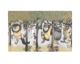 Let the Wild Rumpus Start II Reproduction d'art par Maurice Sendak