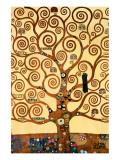 L'arbre de vie, 1909, fresque du Palais Stoclet Giclée premium par Gustav Klimt