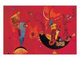Mit und Gegen Giclée premium par Wassily Kandinsky