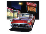 Buick '56 at Martha's Diner
