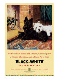 Whisky «Black and white» Giclée premium