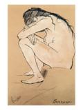 Sorrow Giclée premium par Vincent Van Gogh