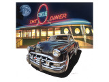 Pontiac Chieftain &#39;50 at The Circle Diner