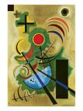 Vert solide Giclée premium par Wassily Kandinsky