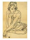 Woman Crouching  1918