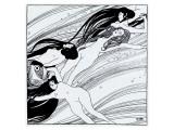 The Blood of Fish, c.1898 Giclée premium par Gustav Klimt