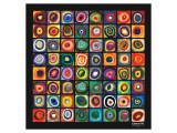 Étude de couleurs Giclée premium par Wassily Kandinsky