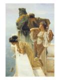 A Coign of Vantage Giclée premium par Sir Lawrence Alma-Tadema