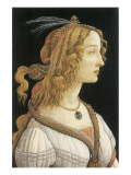 Simonetta Vespucci in Mythological Guise