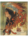 Song Sheet Cover: Red Wing  an Indian Intermezzo by Kerry Mills