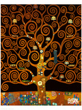 Under the Tree of Life Giclée premium par Gustav Klimt