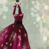 Fuschia Dress I