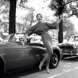 MG Girl  Paris  1957
