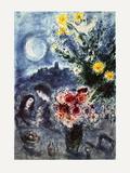 Souvenir D'Une Soiree Reproduction pour collectionneurs par Marc Chagall
