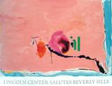 Flirt Sérigraphie par Helen Frankenthaler