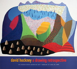 Sinked affiche par David Hockney