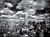 New York  New York  Sky Over Manhattan