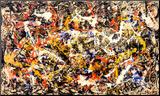 Convergence Reproduction montée par Jackson Pollock