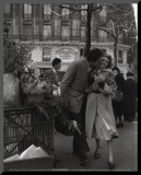 Paris, 1950 Reproduction montée par Robert Doisneau