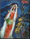 La mariée Reproduction montée par Marc Chagall