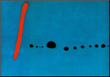 Bleu II Reproduction montée par Joan Miró