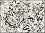 N° 14, gris Reproduction montée par Jackson Pollock