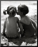 Kids Kissing