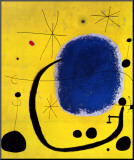 L'or de l'azur Reproduction montée par Joan Miró