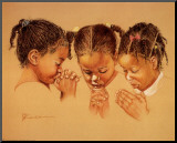 Three Girls Praying