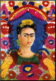 The Frame art print by Frida Kahlo