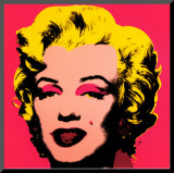 Marilyn Monroe  1967 (hot pink)