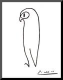 Chouette Reproduction montée par Pablo Picasso