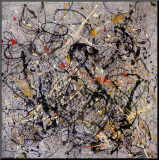 Nombre 18,1950 Reproduction montée par Jackson Pollock