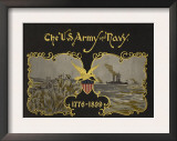 The US Army and Navy 1776-1899