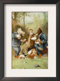 Teddy Roosevelt&#39;s Bears: Teddy B and Teddy G at a Picnic