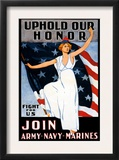 Uphold Our Honor  Join Army  Navy  Marines