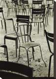 Empty Chair in the Luxembourg Garden