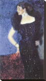 Portrait of Rose von Rosthorn-Friedmann Tableau sur toile par Gustav Klimt